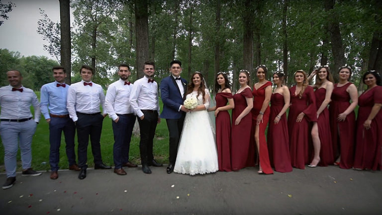 filmare nunta in Alexandria